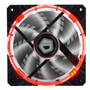 ID-COOLING CF-12025R 双光圈单体机箱风扇 12cm 温控减震红光