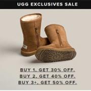 UGG Australia美国官网特价区女靴折上折,买一双7折/两双6折/三双享5折
