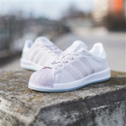 Adidas阿迪达斯Superstar Bounce女款运动鞋  粉紫色