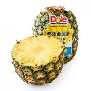 Dole 都乐 菲律宾无冠金菠萝 1个0.9-1.35kg