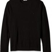 M码!Calvin Klein Tipped 男子100%美利奴羊毛衫