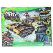 MEGA 美高 DPF81 忍者神龟系列 丛林坦克战场景