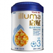 Wyeth 惠氏 illuma 启赋 幼儿配方奶粉 3段 900g