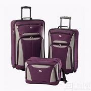 AMERICAN TOURISTER 美旅箱包 56445 拉杆箱三件套 登记袋+21寸+25寸