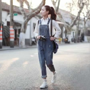 6款女式牛仔背带裤推荐