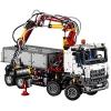 LEGO 乐高 42043 奔驰卡车开箱及拼装