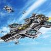 LEGO 乐高 SHIELD Helicarrier 76042 神盾局的天空母舰积木玩具开箱