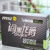 MSI 微星 GTX 1070 8G DUKE 暗黑龙爵显卡开箱