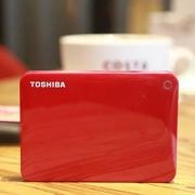 TOSHIBA 东芝 V8 CANVIO 高端系列1TB移动硬盘开箱