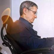 苹果CEO同款,Humanscale 优门设 F211GV102 电脑椅入手开箱