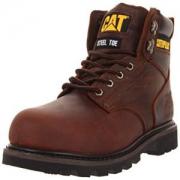CAT 卡特彼勒 经典版靴 Caterpillar Mens Second Shift Steel Toe Work Boot
