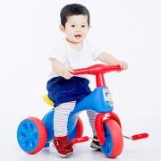 AUBY 澳贝 464312DS 儿童轻便三轮车开箱