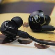 Audio-Technica 铁三角 ATH-ANC23 降噪耳塞开箱