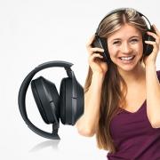 Sony 索尼 MDR-1000X头戴式降噪耳机开箱体验