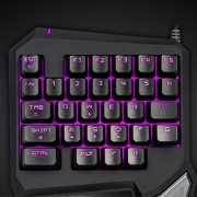 Delux 多彩 T9Pro 左手键盘开箱体验