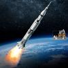 乐高界的一大步!Lego 乐高 21309 阿波罗土星五号运载火箭开箱