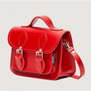 Zatchels 时尚经典迷你剑桥包/斜挎包 红色