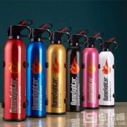 FlameFighter 火焰战士 家用/车载干粉灭火器520g 送安全锤+固定带