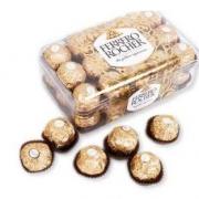FERRERO ROCHER 费列罗 巧克力制品375g/盒(30粒)   *8件