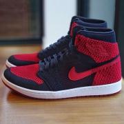 Air Jordan 1 Retro HI Flyknit 篮球鞋开箱