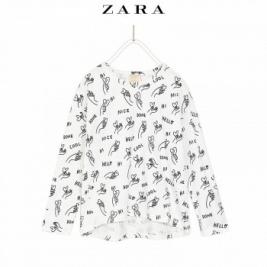 ZARA 女童图案印花T恤29元包邮(已降20元)