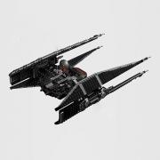 LEGO 乐高星球大战系列凯洛∙伦的TIE战机开箱