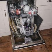 HUMANTOUCH HTD-B2 家用8套嵌入式洗碗机开箱
