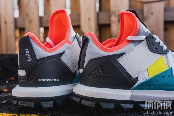 Adidas 阿迪达斯 Kolor Response Trai 联名款徒步鞋上脚
