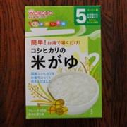 Wakod和光堂婴儿辅食高钙米粥/米粉(5g×10包)×6個折后史低984日元,约¥58