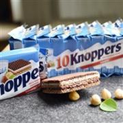 Knoppers 5层夹心牛奶榛子巧克力威化饼干  8x25g