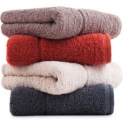 SANLI 三利 长绒棉A类标准素色良品毛巾4条装