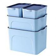 内衣服收纳盒 玩具杂物整理箱子 (天蓝色)69元
