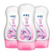 ABC 卫生护理液男女私处洗液50ml*3瓶