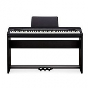 CASIO卡西欧 PX-160BK Privia系列88键数码钢琴套装 包含(琴架、三踏板) 黑色