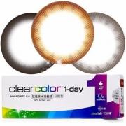 clearcolor可丽博 1-day日抛彩色隐形眼镜10片装*2件