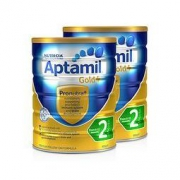 Aptamil 爱他美 金装 幼儿奶粉 2段 900g *2件