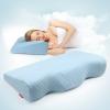 Back2脊态 成人记忆枕 蝶形慢回弹 樱花粉(玻尿酸美容枕) 枕高 11cm