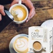 AGF Blendy 醇厚牛奶咖啡拿铁 速溶冲饮 18条*3盒
