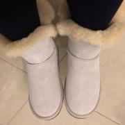 Style&Co. 女士时尚雪地靴开箱