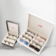 JINS 睛姿多格眼镜收纳盒开箱&简单使用体验