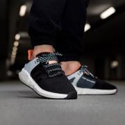 Adidas 阿迪达斯 EQT Support 93/17 运动鞋上脚