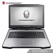 ThundeRobot 雷神 911黑武士 15.6英寸游戏笔记本电脑(i7-7700HQ 8G 128G+1T GTX1050Ti 4G显存)