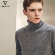马克华菲(Mark Fairwhale)   新款纯色高领毛衣 3色
