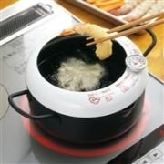 YOSHIKAWA 吉川 SH9257 带温度计炸锅 20cm