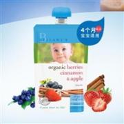 买一送一:Bellamy's 贝拉米 有机浆果肉桂苹果水果泥(4个月以上)90g*8