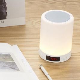 智能触控# LED夜灯创意智能触摸蓝牙音响49元包邮(79-30券)