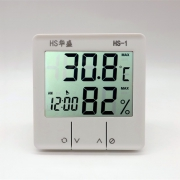 天猫商城:华盛 电子数字高精度 干湿温度计 带闹钟功能