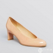 6PM:Stuart Weitzman 女士Chicpump真皮高跟单鞋 3折$109.99