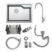 ARROW 箭牌卫浴 AEO4B10158-S 先锋款 304不锈钢厨房水槽套装