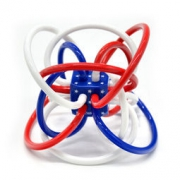 manhattan toy 曼哈顿球 星条旗版 儿童牙胶摇铃玩具 *3件